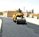 همکاری دهیاری ها در بهسازی جاده ها